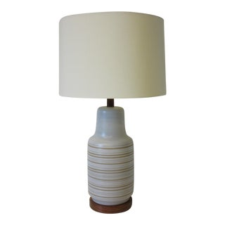 Mid Century Martz Pottery Table Lamp For Sale