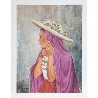 Vic Herman, Ballerina Guermin , Lithograph For Sale