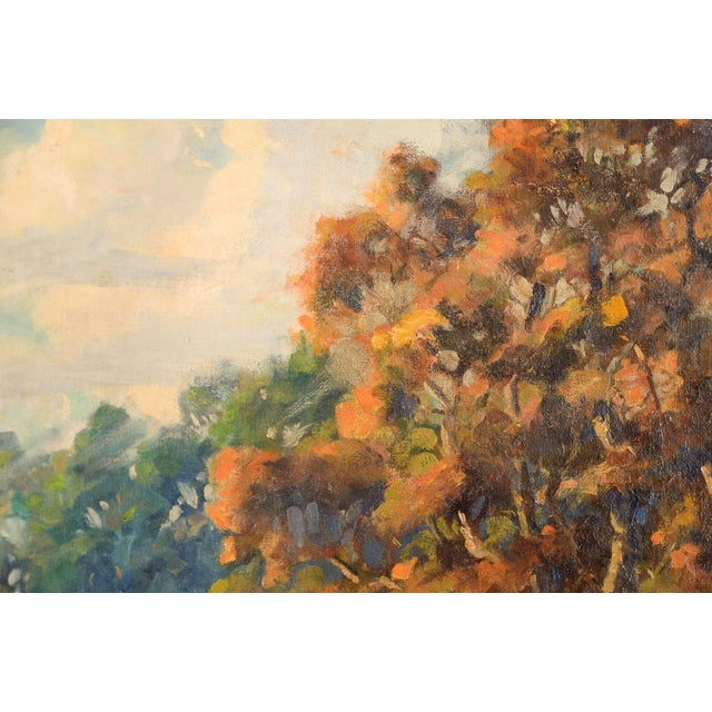 Impressionist Horatio Nelson Poole Large California Landscape Oil Painting For Sale - Image 7 of 10