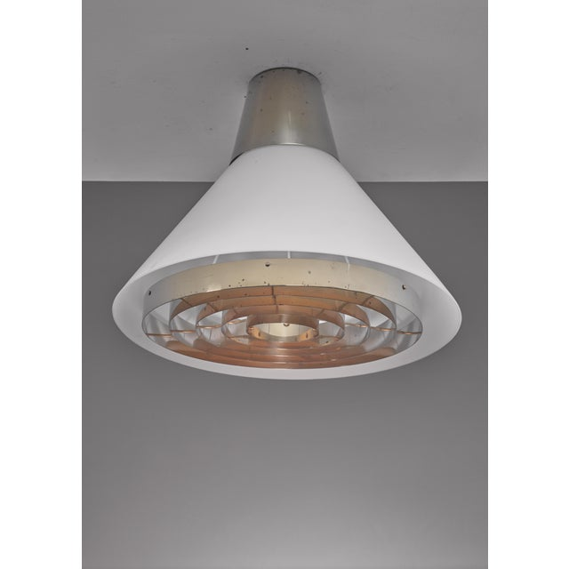 Stockmann Orno Lisa Johansson-Pape ceiling lamp for Orno, Finland For Sale - Image 4 of 5