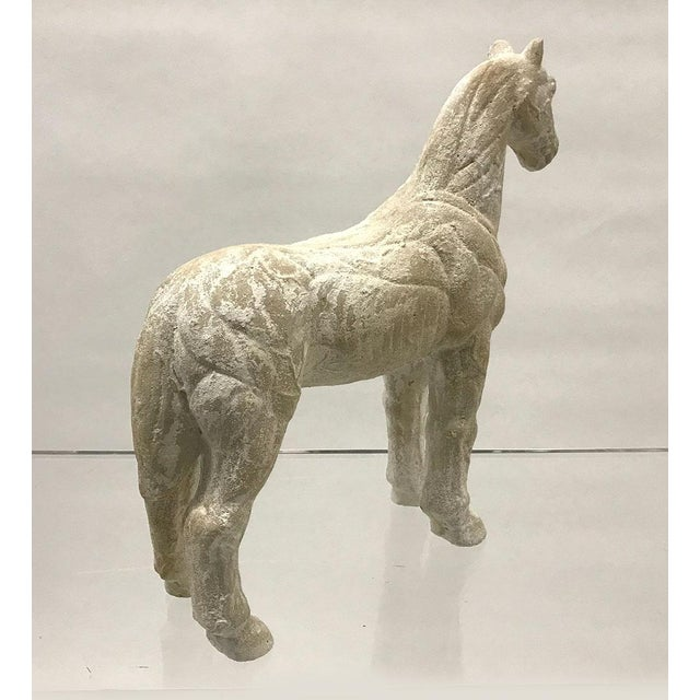 Mid-20th Century Vintage Plaster Model of Horse For Sale - Image 4 of 9
