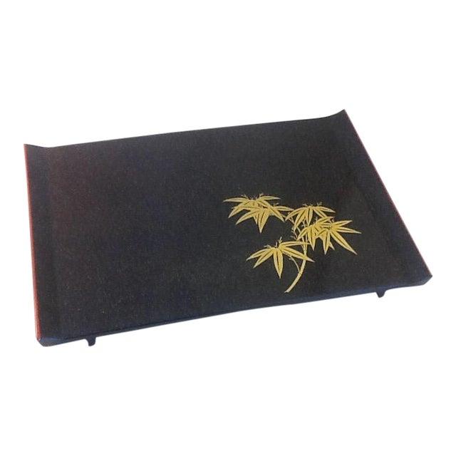 Mid-Century Modern Asian Melamine Tray - Image 1 of 4