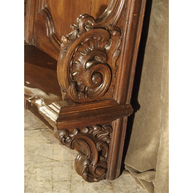 Louis XIV 19th Century Sculpted Oak Stall from a Private Chapel in Liege, Belgium For Sale - Image 3 of 11