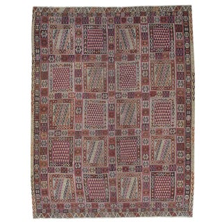 Antique Turkish Bayburt Kilim Rug For Sale
