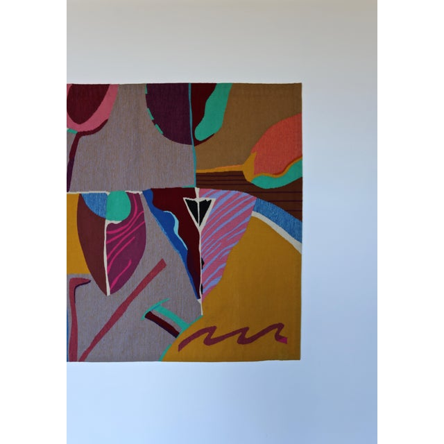 Contemporary Abstract Tapestry by Steve Zoller For Sale In Los Angeles - Image 6 of 10