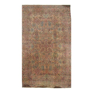 """Pasargad N Y Antiuque Persian Lavar Kerman Hand Knotted Rug - 9'10"""" X 16' For Sale"""