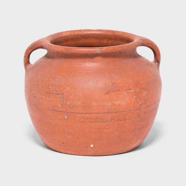 Ceramic Early 20th Century Chinese Terracotta Soup Pot For Sale - Image 7 of 7
