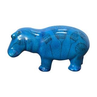 """Bitossi Era Met. Museum of Art Hippo """"William"""""""