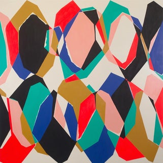 """Ulla Pedersen """"Cut-Up Canvas II.1"""", Painting For Sale"""
