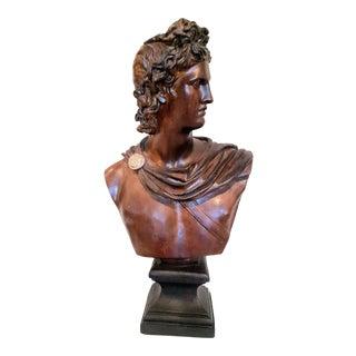 Ceramic Apollo Bust
