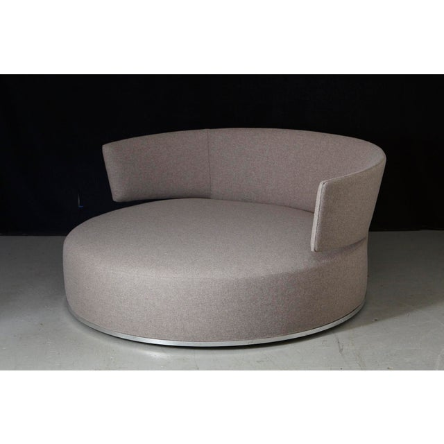 Amoenus - Circular Swivel Sofa by Antonio Citterio for B & B Italia, New Upholstery For Sale - Image 13 of 13