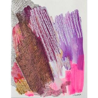 """Bird of Paradise"" Abstract Acrylic Painting"