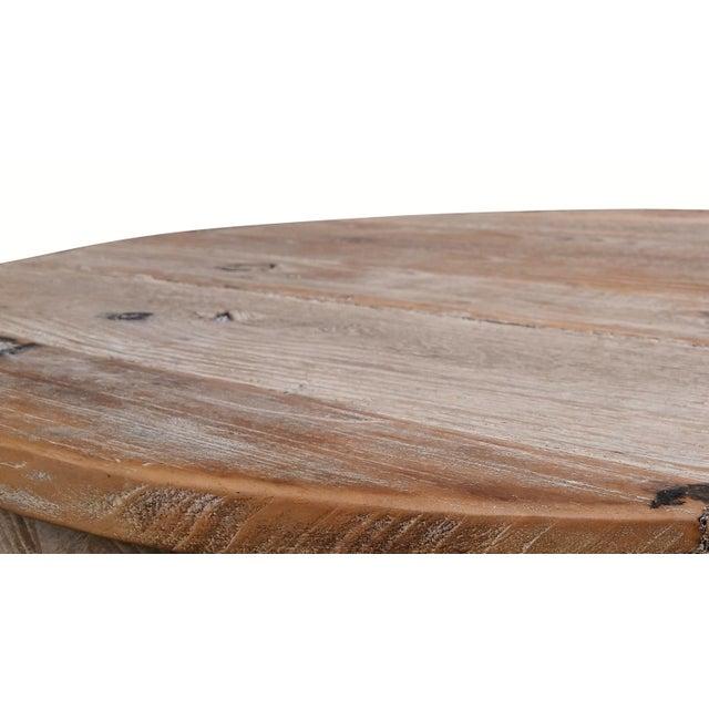 Louis XIV Style Pine Bistro Set - Image 5 of 9