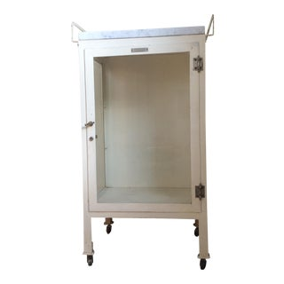 Max Wochner & Sons Apothecary Cabinet For Sale