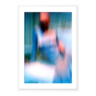 London, 2004 by David Gibson in White Frame, Small Art Print For Sale