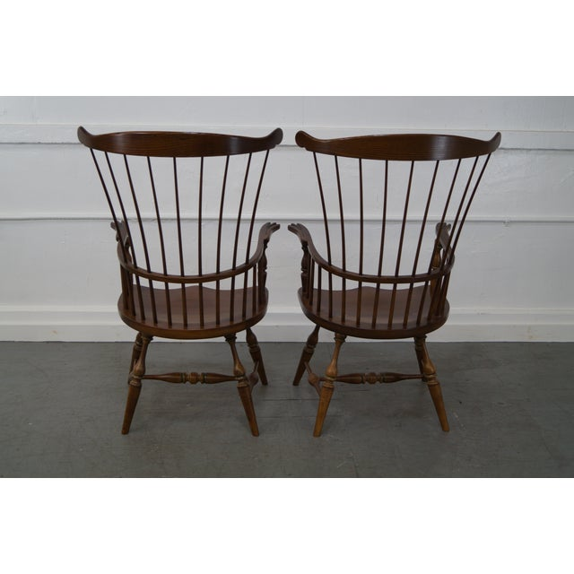 Frederick Duckloe & Bros Armchairs - Set of 6 - Image 6 of 8