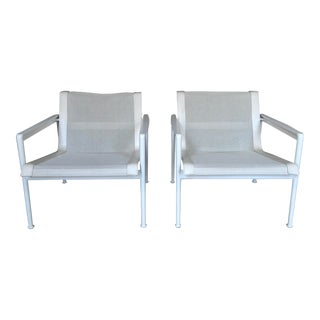 Lounge Chairs by Richard Schultz for Knoll- A Pair For Sale
