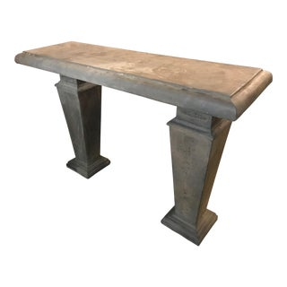 Outdoor Stone Console Table