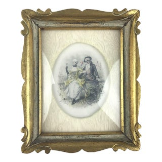 Victorian Style Portrait Framed Painting For Sale