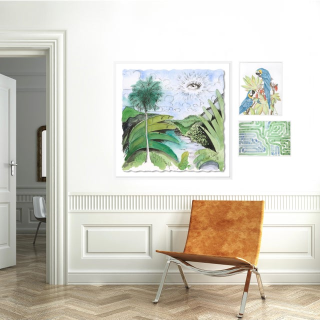 Contemporary Lanai Gallery Wall, Set of 3 For Sale - Image 3 of 10