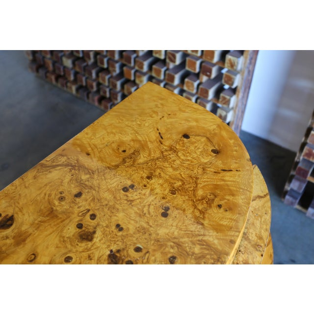 1980s Vintage Sculptural Burl Wood Chest For Sale In Los Angeles - Image 6 of 11