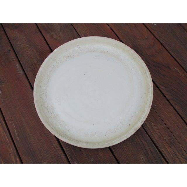 Vintage Ceramic Planter Drip Saucer - Image 6 of 8