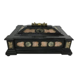19th Century Italian Specimen Marble Box