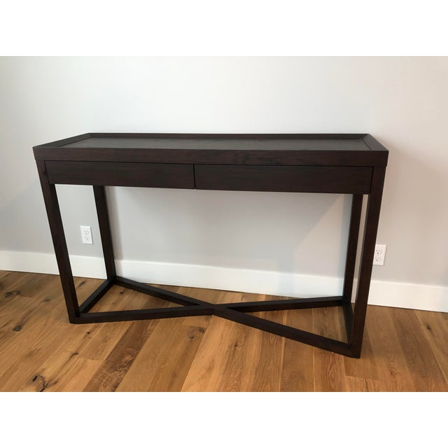 Delicious modern console table from the Calvin Klein Collection for a Touch of Modern. Designer's sample in perfect...