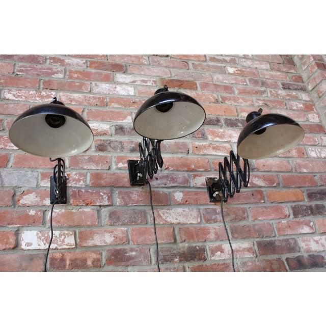 Kaiser Idell Christian Dell for Kaiser Extendable Wall Lamp For Sale - Image 4 of 10