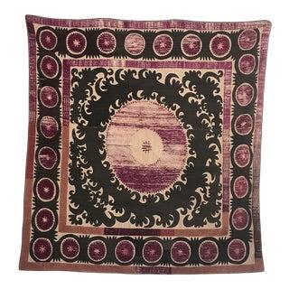 1930s Silk Wall Textile Decor For Sale