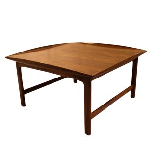 Folke Ohlsson For Dux Mid-Century Teak Coffee Table For Sale