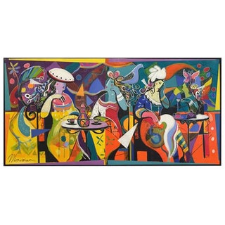 "Original Isaac Maimon ""An American in Paris"" For Sale"