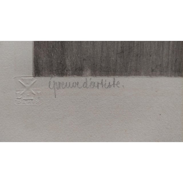 Louis Icart -Casanova - Original 1920s Lithograph -Pencil Signed - Image 6 of 11