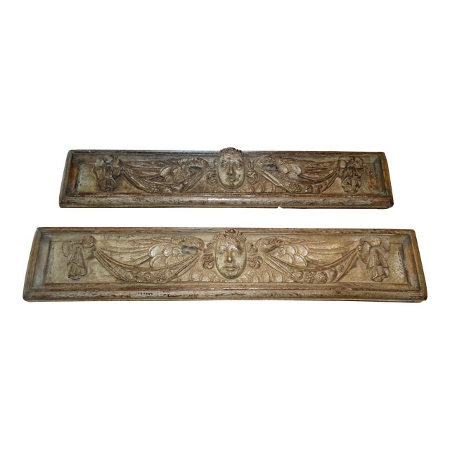 Pair of 18th Century Italian Architectural Panels For Sale