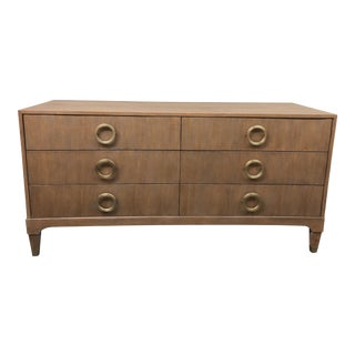 Brownstone Atherton Teak Six Drawer Dresser