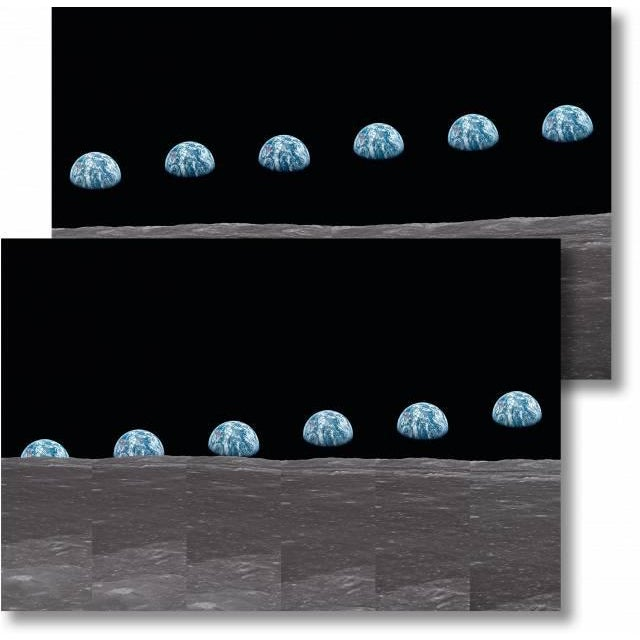 Autographed Buzz Aldrin Apollo 11 'Earthrise Sequence' Art Print For Sale - Image 11 of 11