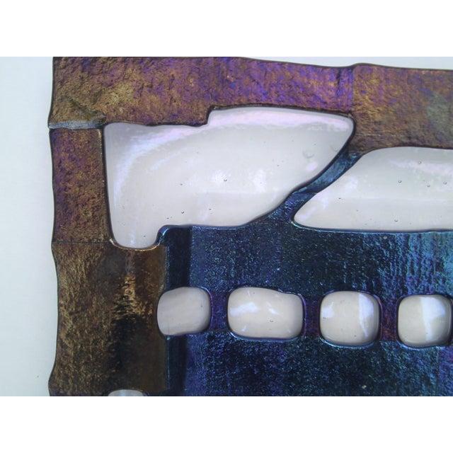 Decorative Fused Glass Dish - Image 6 of 8