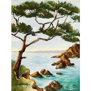 French Seascape Painting For Sale