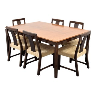 Mid-Century Modern Edward Wormley Dining Set - 7 Pieces For Sale
