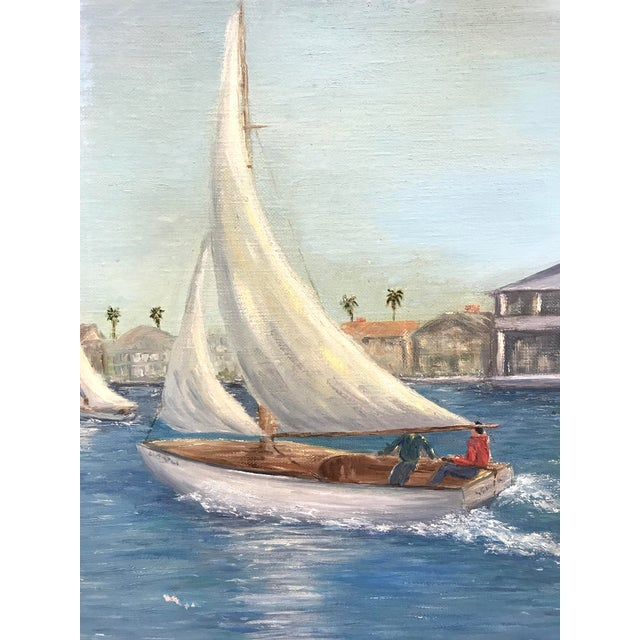 Balboa Pavillion Newport Beach Painting - Image 4 of 9