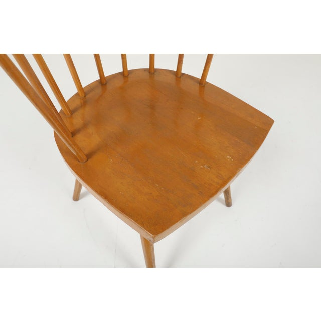 1940s Vintage George Nakashima for Knoll Straight Chair For Sale - Image 6 of 11