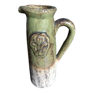 Rustic Provencal French Pitcher For Sale