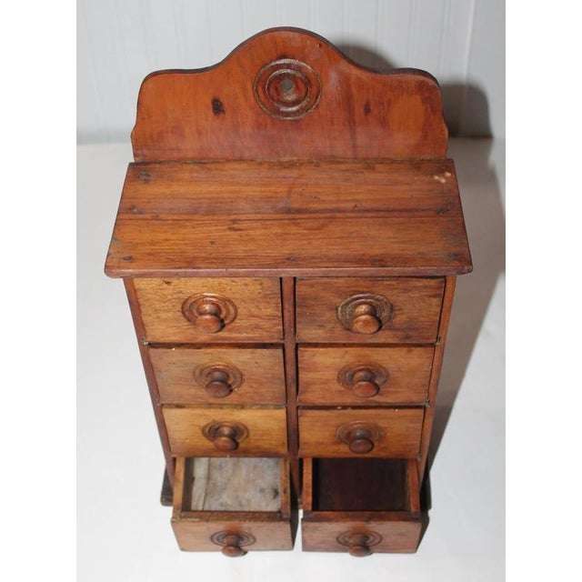 19th Century Wall Hanging Spice Cabinet - Image 3 of 7