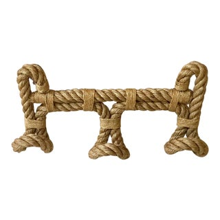 Rope Coat Rack Audoux Minet For Sale