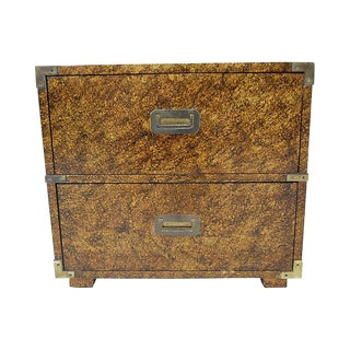 Vintage Henredon 2 Drawer Chest For Sale