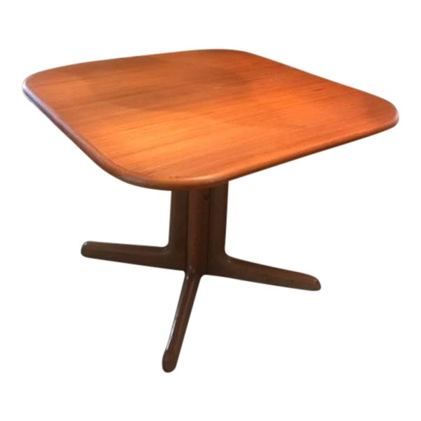Expandable Mid-Century Danish Teak Dining Table by Niels O. Moller for Gudme Mobelfabrik For Sale