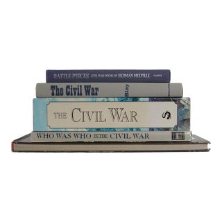Memories of the Civil War - Set of 5 For Sale