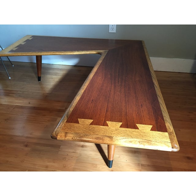 Lane Acclaim Boomerang Coffee Table For Sale In Milwaukee - Image 6 of 11