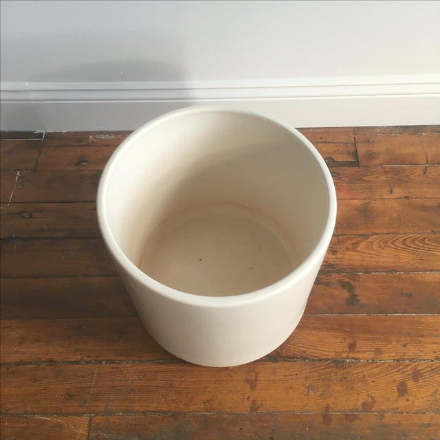 Matte White Ac-12 Gainey Ceramics Planter - Image 3 of 7