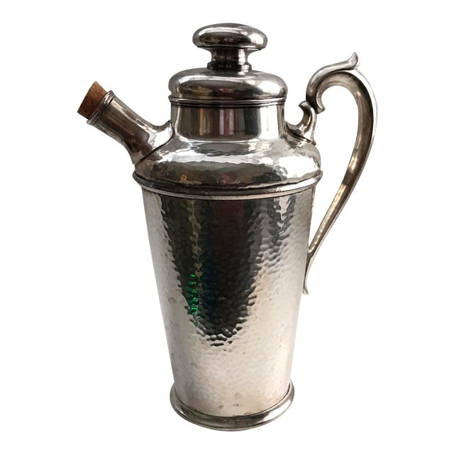 International Silver Co. Hammered Cocktail Shaker - Image 1 of 10